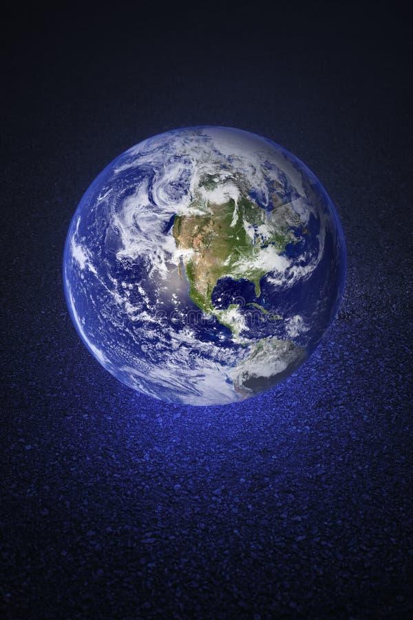 Terra abandonada imagens de stock