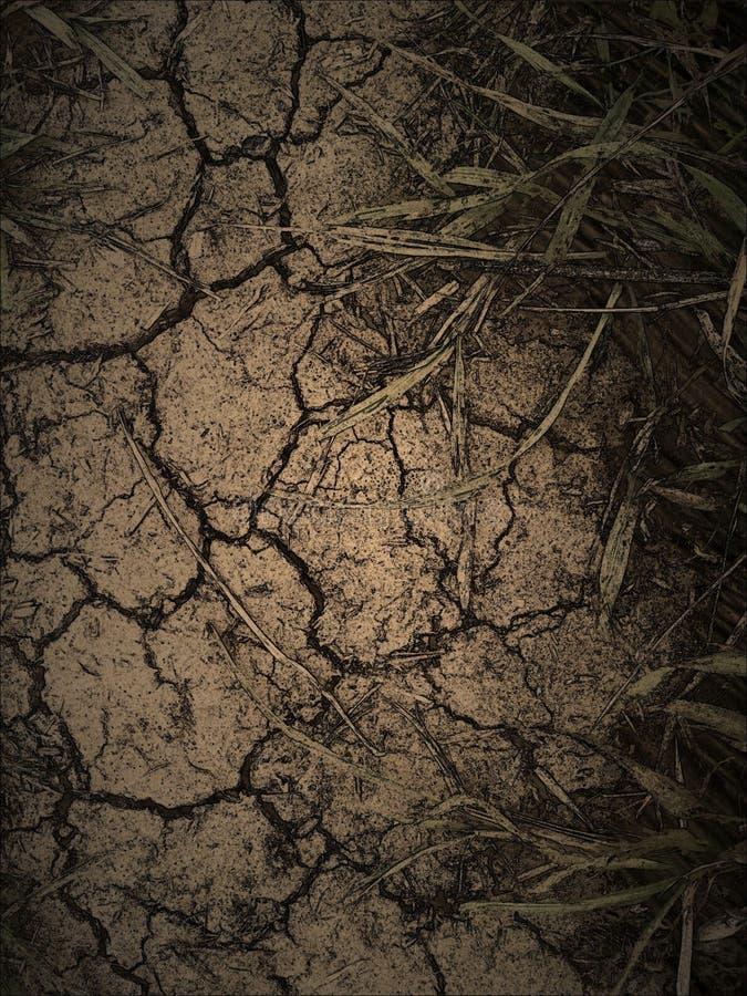 Terra asciutta scura immagine stock libera da diritti