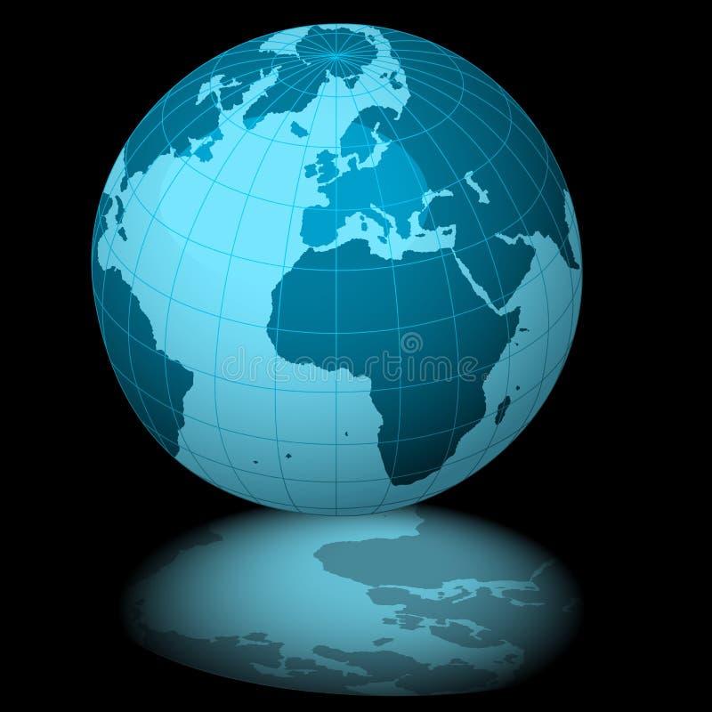 Terra blu royalty illustrazione gratis