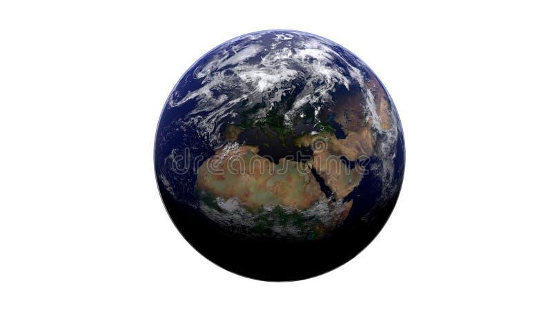 Terra blu illustrazione vettoriale