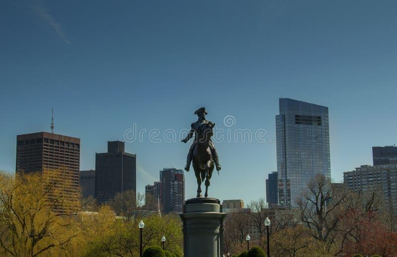 Terra comum de Boston fotografia de stock