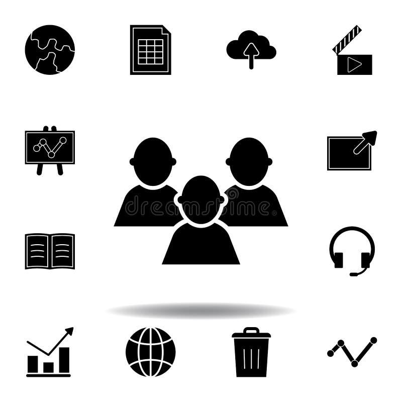 Terra, ?cone global Os sinais e os s?mbolos podem ser usados para a Web, logotipo, app m?vel, UI, UX ilustração stock