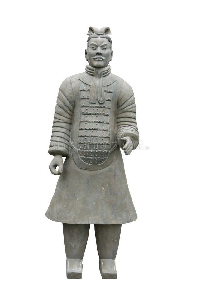 Terracotta warrior, chinese warrior, Xian Dynasty royalty free stock photography