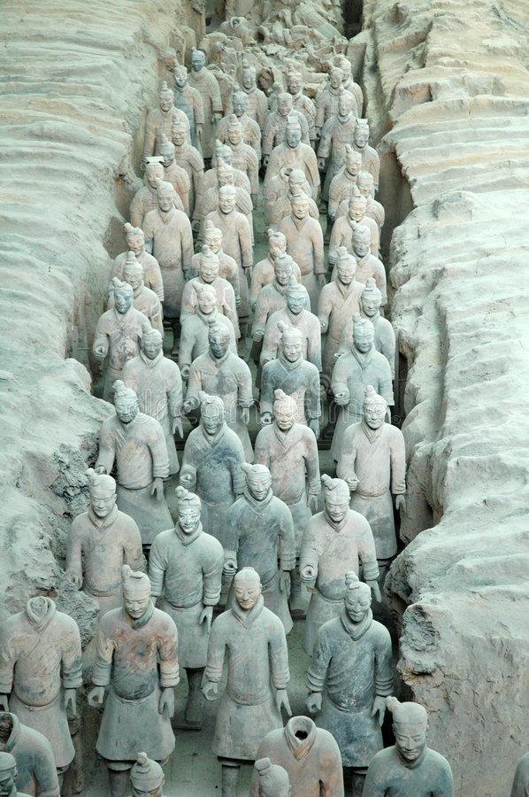 Free Terra Cotta Warriors Stock Images - 1155974
