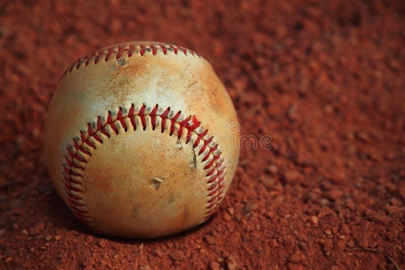 Terra da areia do basebol fotos de stock