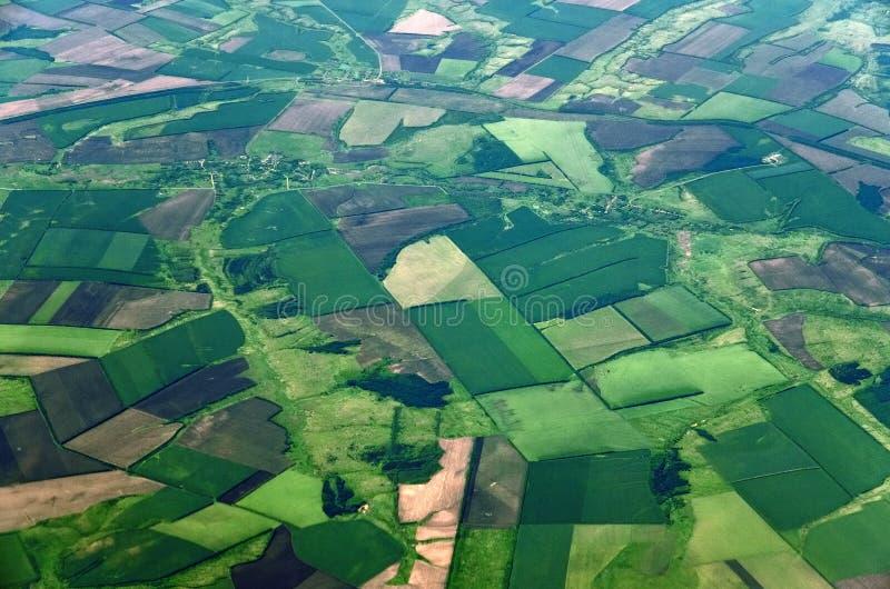 Terra da grande altura no território de Krasnodar de Rússia imagens de stock