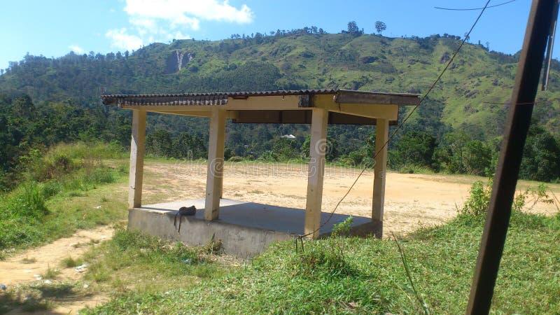 Terra de Demodara de Sri Lanka imagens de stock