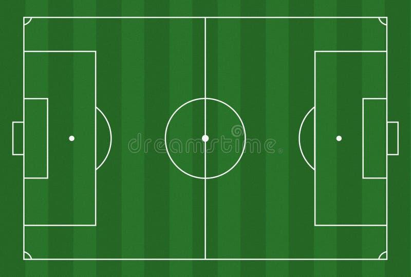 Terra de futebol ilustração royalty free