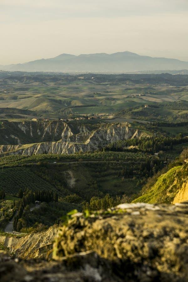 Terra de Volterra fotografia de stock