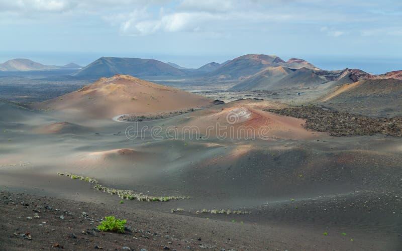 Terra dei vulcani immagine stock libera da diritti