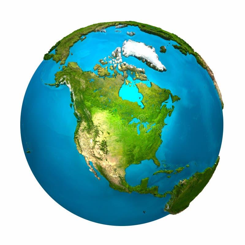 Terra del pianeta - America del Nord