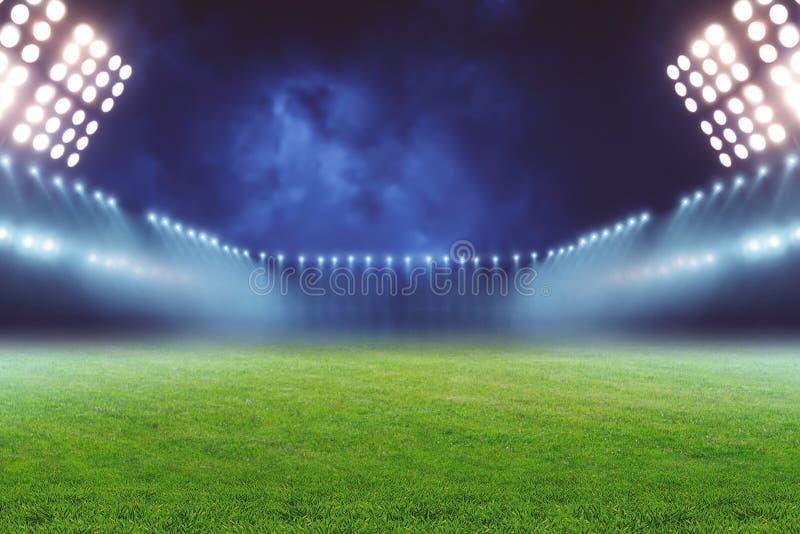 Terra di gioco del calcio fotografia stock libera da diritti