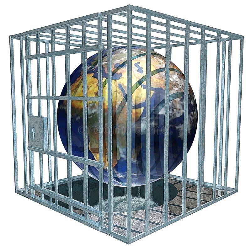 Download Terra di Prisoned illustrazione di stock. Illustrazione di isolato - 203125