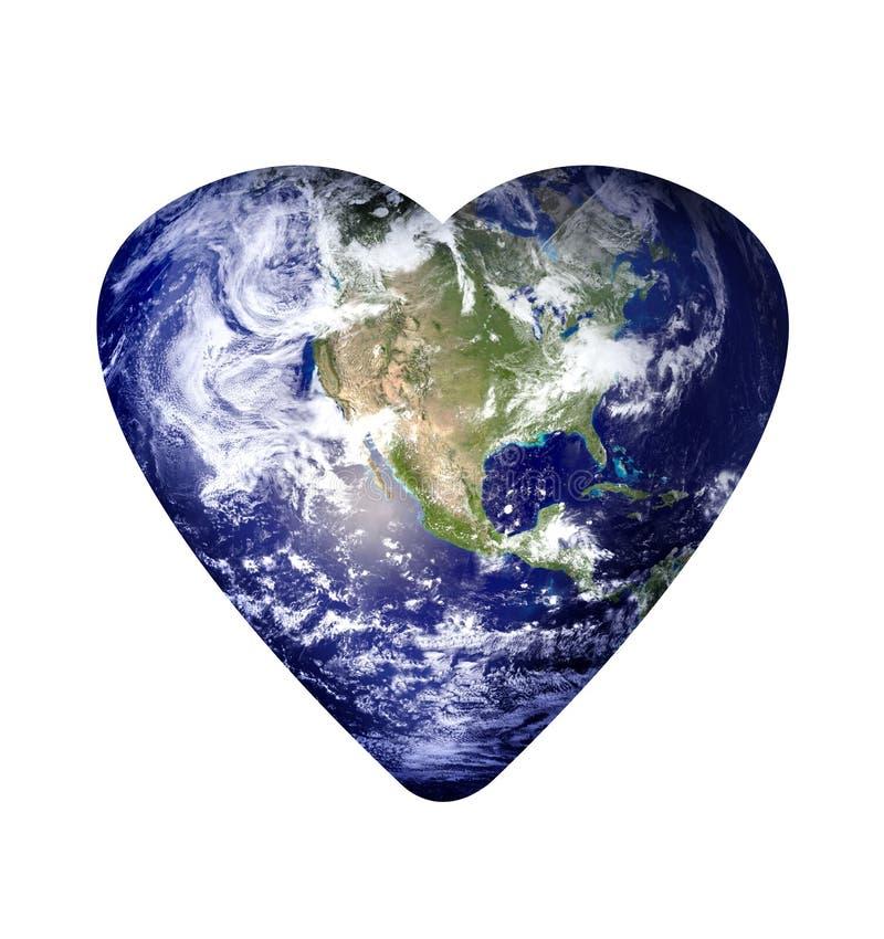 Terra do amor imagem de stock royalty free