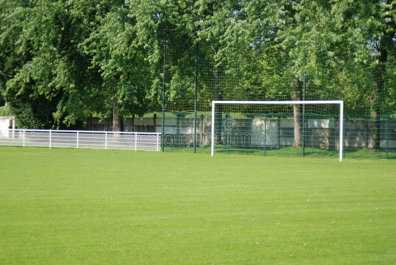 Terra do futebol, futebol foto de stock