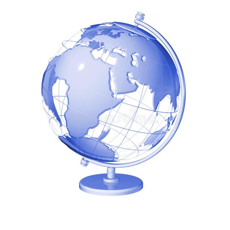 Terra do globo ilustração do vetor