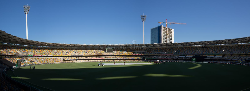 Terra do grilo de Melbourne fotografia de stock