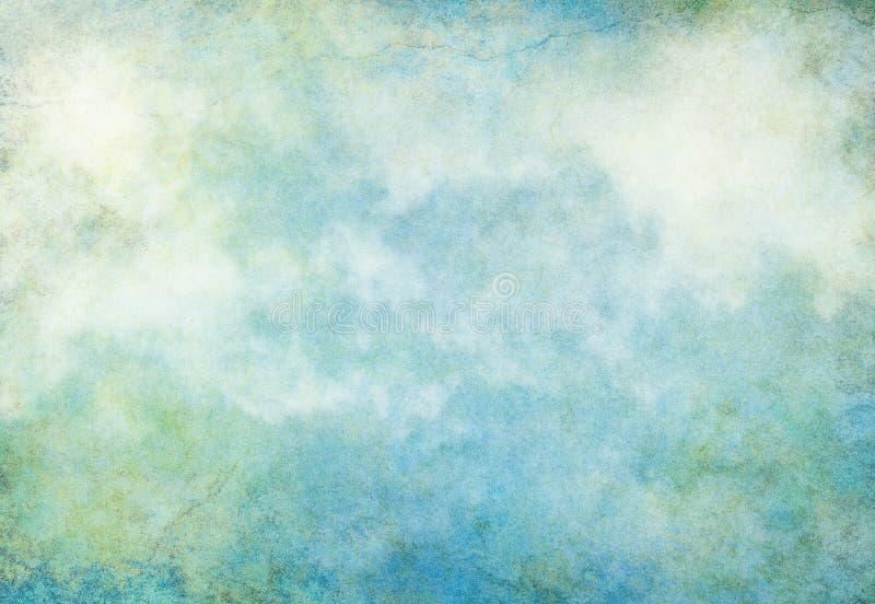 Terra do Grunge da nuvem