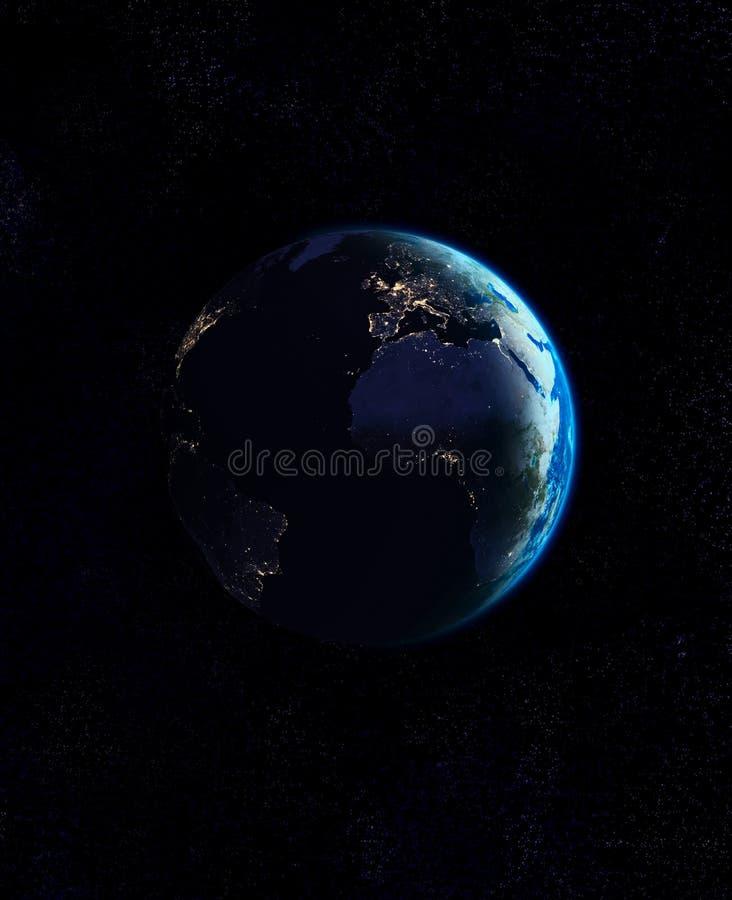 Terra do planeta ilustração do vetor