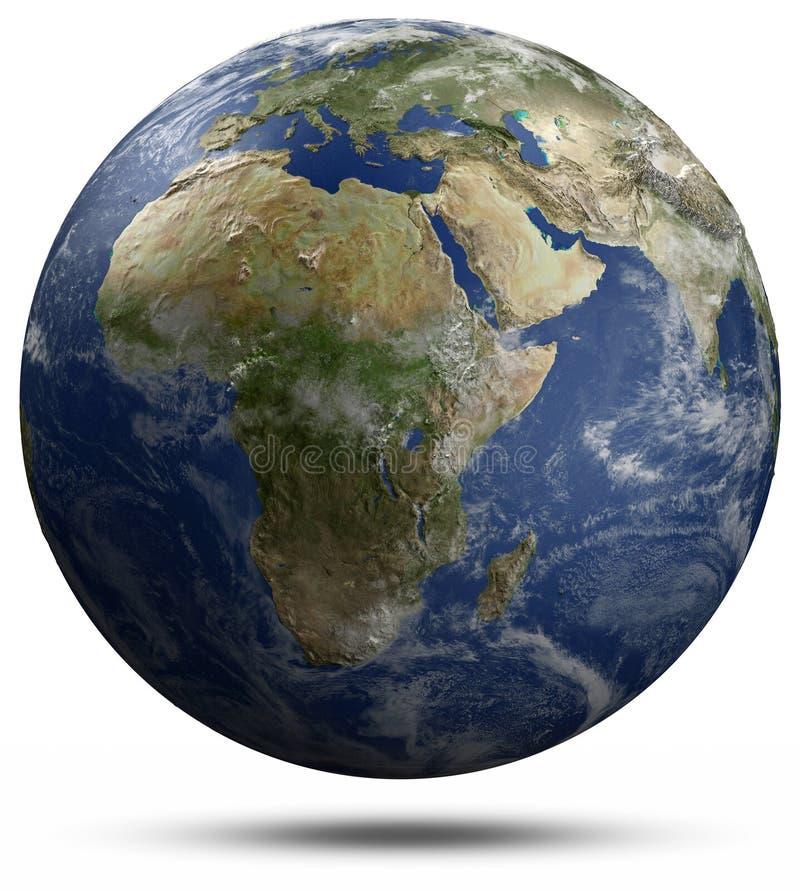 Terra do planeta ilustração royalty free