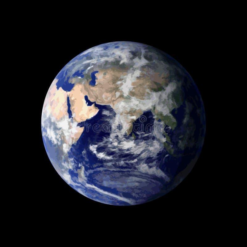 Terra do planeta do espaço ilustração royalty free
