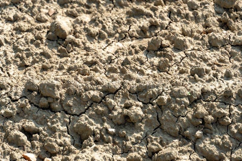 Terra estéril e da seca imagens de stock