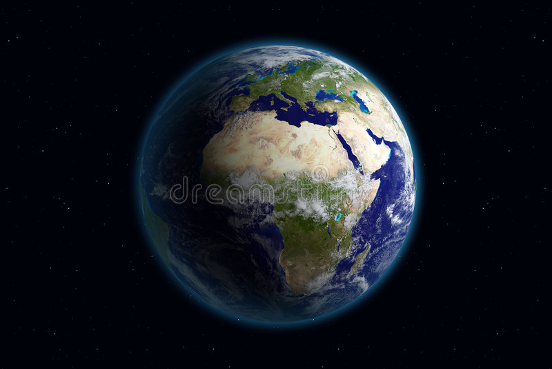 Terra - Europa & nubi
