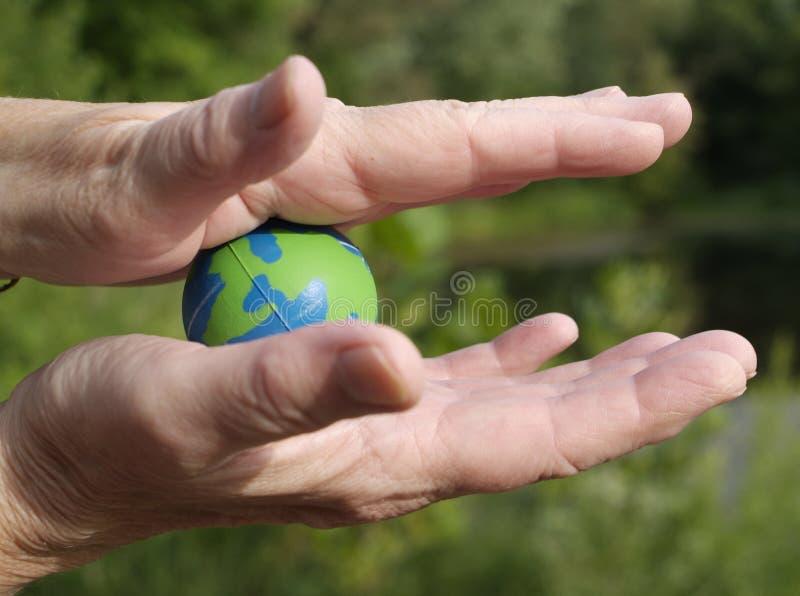 Terra fragile immagine stock libera da diritti