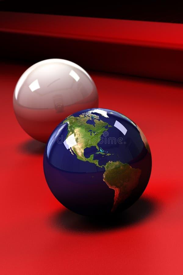 Terra in gioco illustrazione di stock