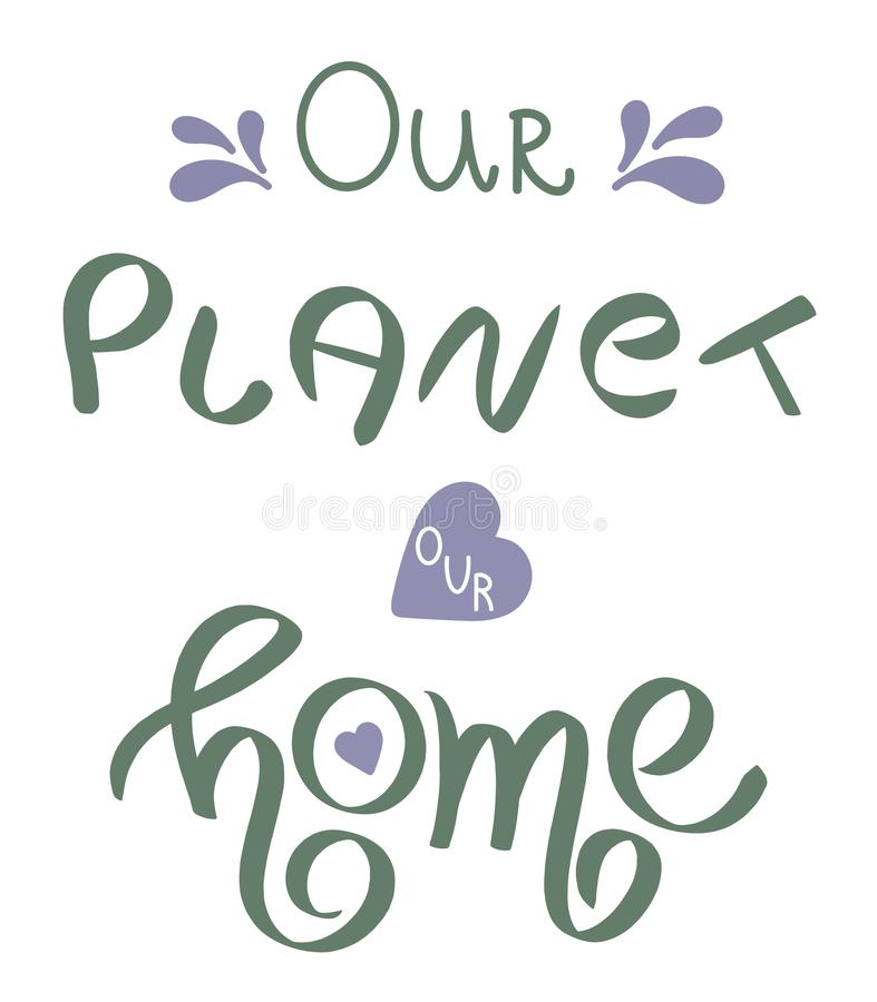 Terra giorno 22 aprile felice scritto mano Frase scritta a mano concettuale Progettazione calligrafica indicata da lettere della  illustrazione vettoriale