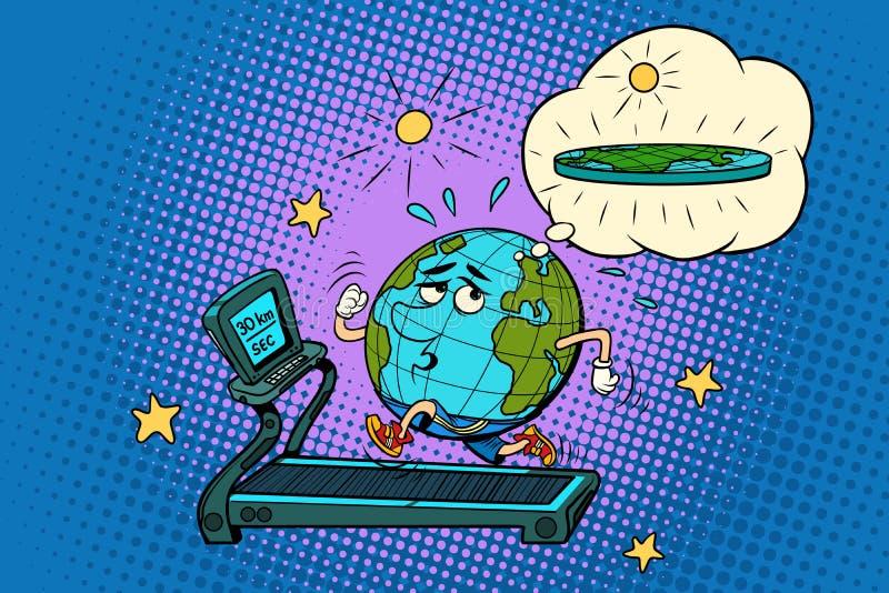 Download Terra Gorda Triste Na Escada Rolante Sonhe Para Perder O Peso Fitn Do Esporte Ilustração do Vetor - Ilustração de caráter, aptidão: 107529345