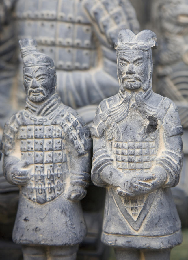 Terra - guerreiros do cotta imagem de stock royalty free