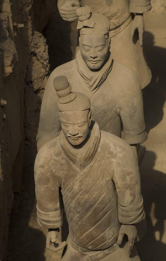 Terra - guerreiros do cotta imagens de stock royalty free