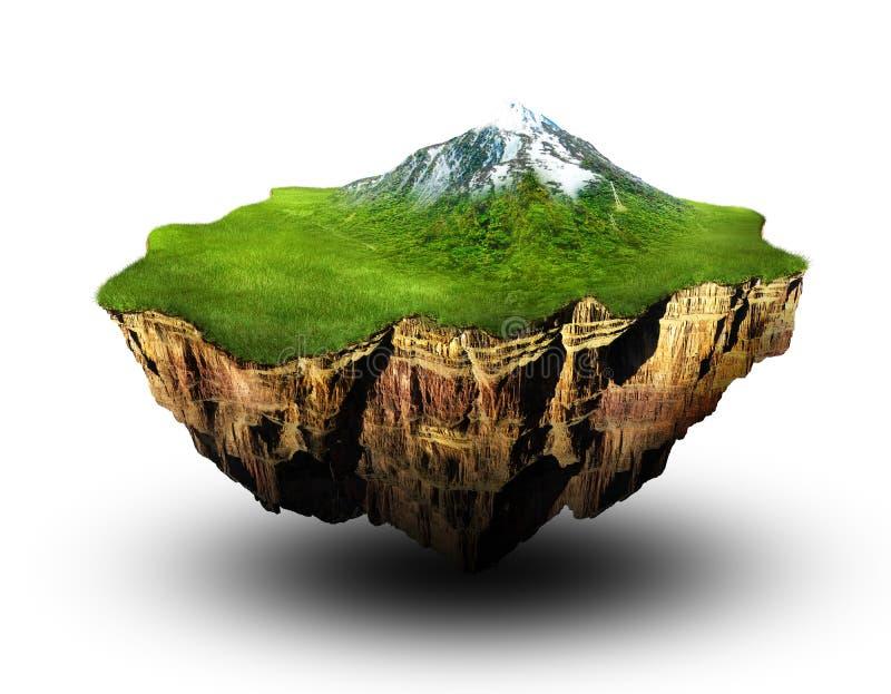 Terra ideal ilustração stock
