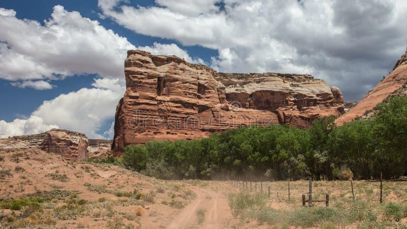 Terra navajo nel canyon immagini stock libere da diritti