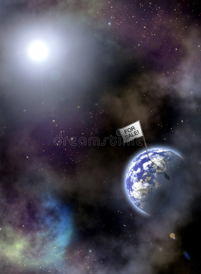 Terra para a venda