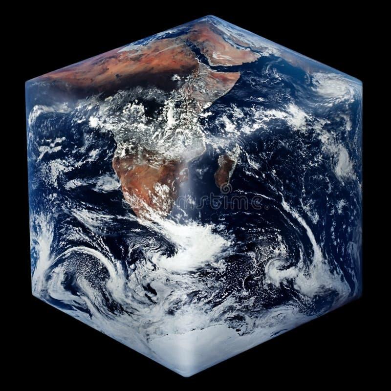Terra quadrada ilustração royalty free