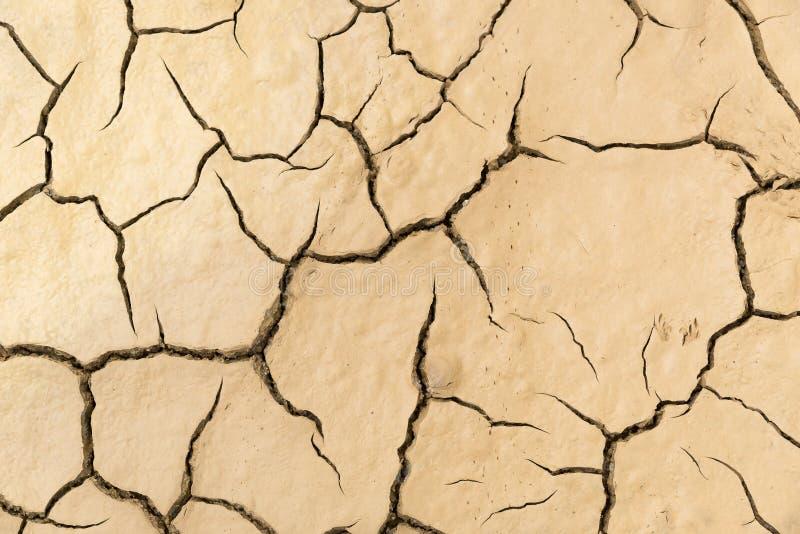 Terra rachada da argila, fundo ilustração royalty free