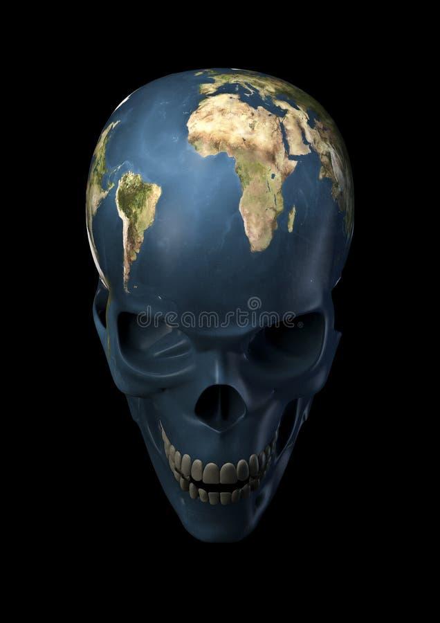 Terra ruim ilustração stock
