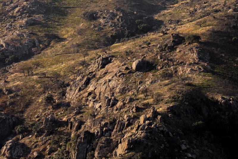 Terra Selvagem dos Escavenger, Miranda do Douro, Montanhas Tras-os-Montes foto de stock royalty free