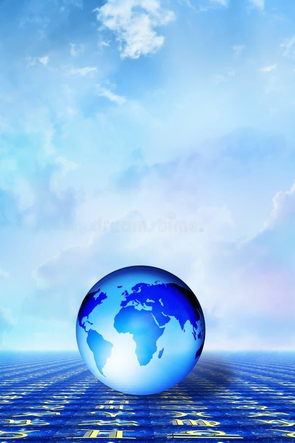Terra spiritosa illustrazione vettoriale