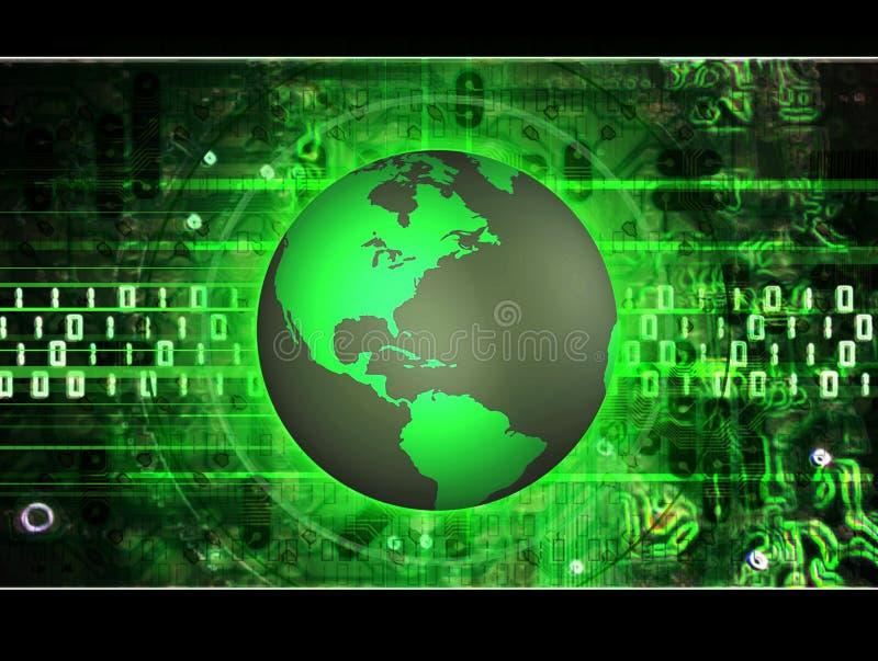 Terra tecnica illustrazione di stock