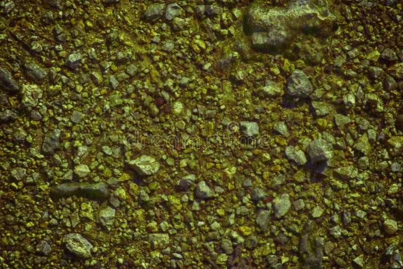 A terra ultra alaranjada gosta em Marte, textura da terra, superfície da areia, fundo de pedra imagens de stock
