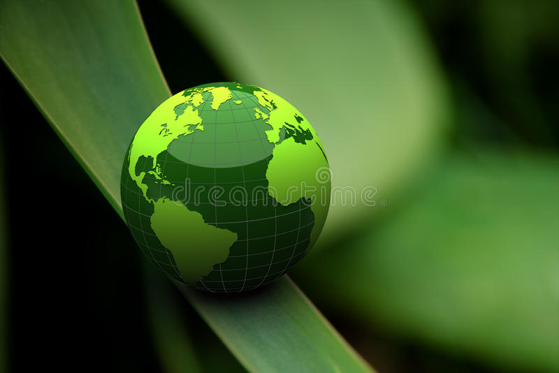 Terra verde illustrazione vettoriale