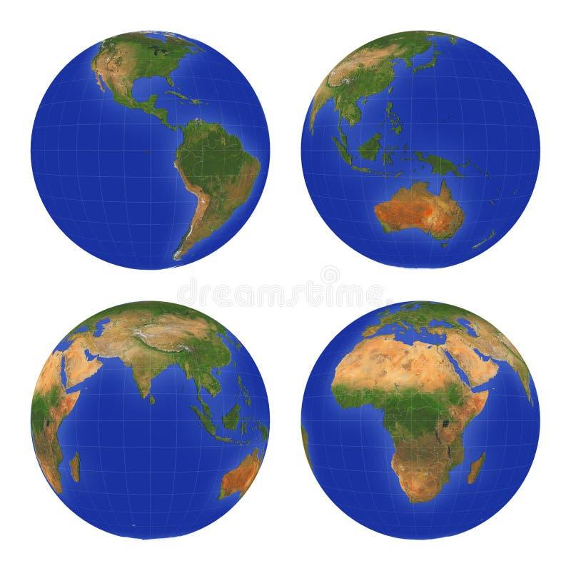 Terra View#1 royalty illustrazione gratis