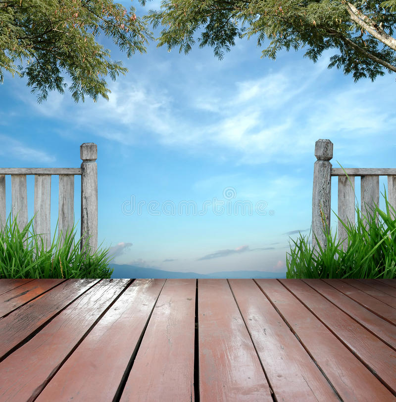Download Terrace stock photo. Image of veranda, floor, blue, background - 18060972