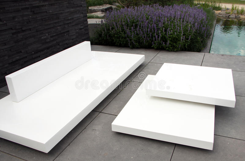 Download Terrace garden stock photo. Image of white, furniture - 21108276