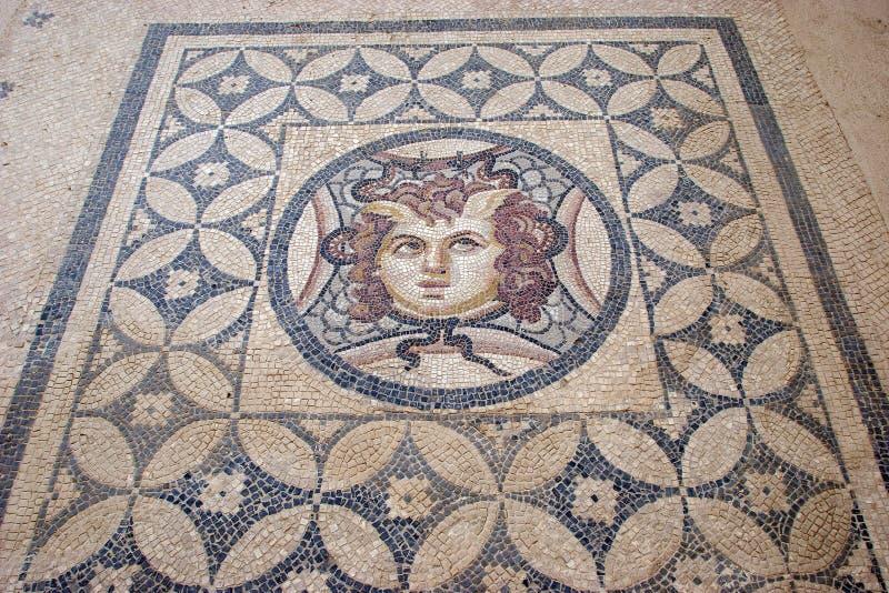 Terrace Houses, Ephesus, Turkey. Ancient Roman Mosaics from Terrace Houses, Ephesus, Turkey royalty free stock photos