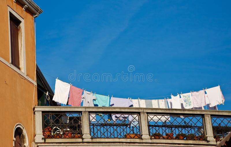 Terrace With Laundry