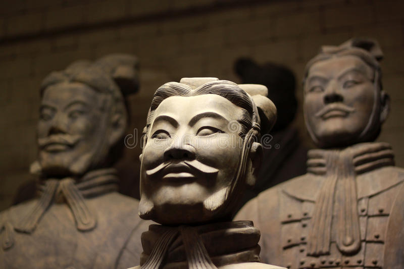 Terracotta army stock images